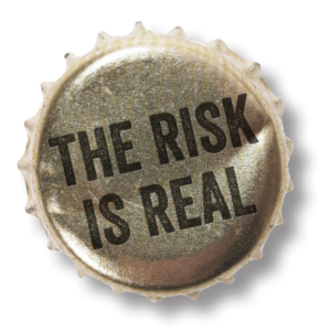 risk-is-real-bottlecap